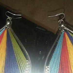 none Jewelry - Beautiful native earings. Colorful.